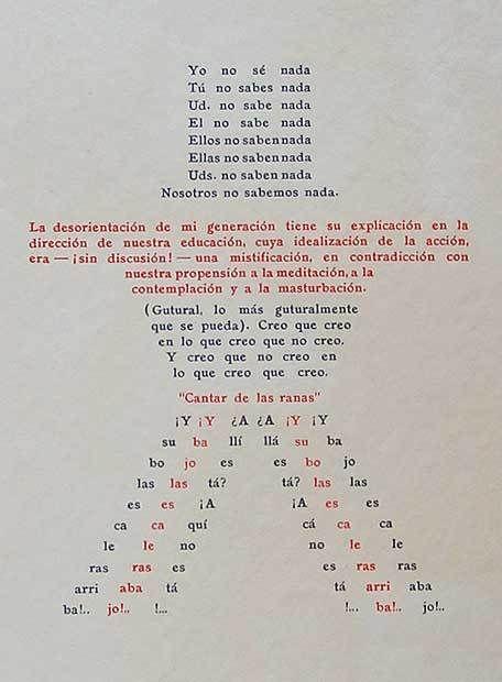 OLIVERIO GIRONDO - EL ESPANTAPAJAROS