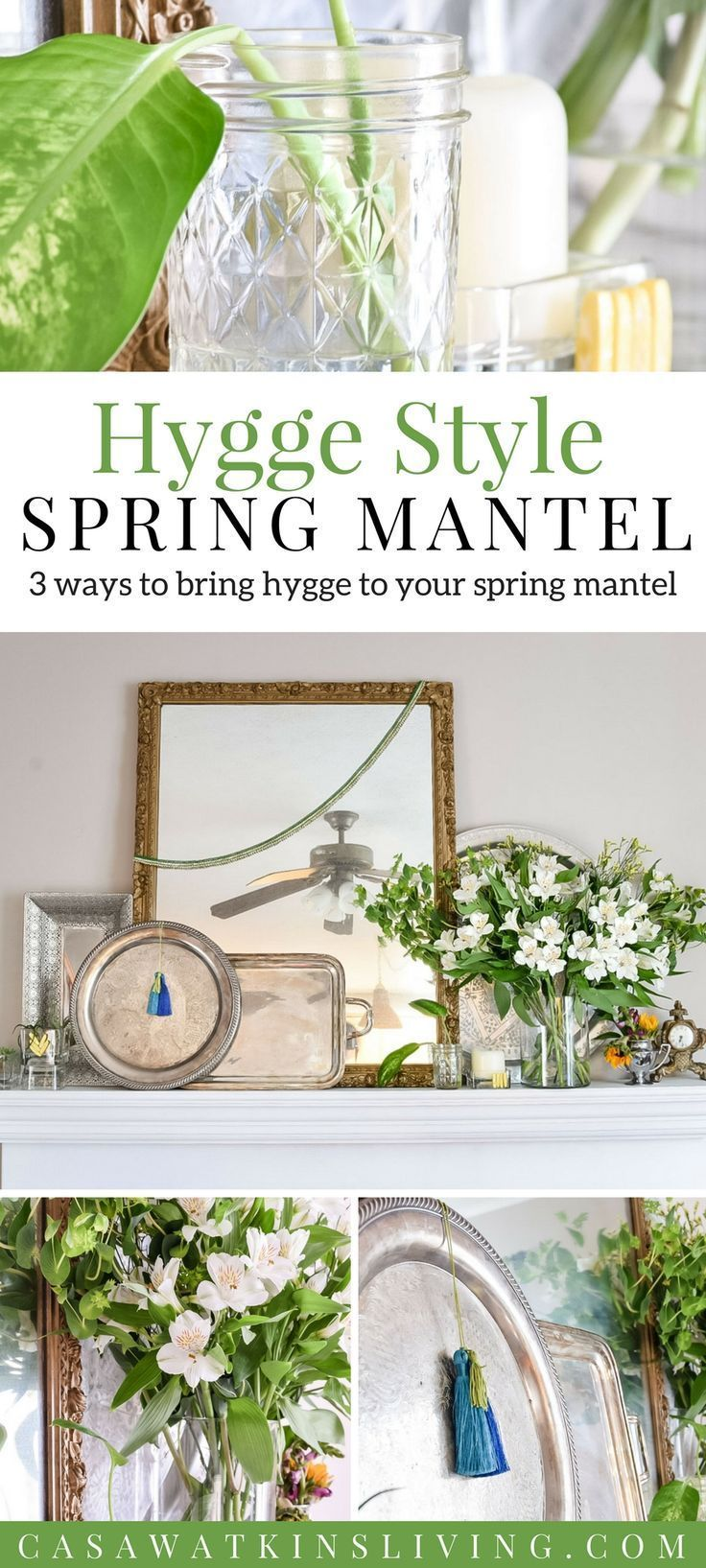 Hygge style for spring