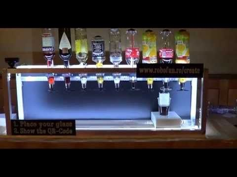The Social Drink Machine : Robofun – Create