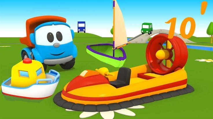 Compilation di cartoni animati per bambini: Le barche!