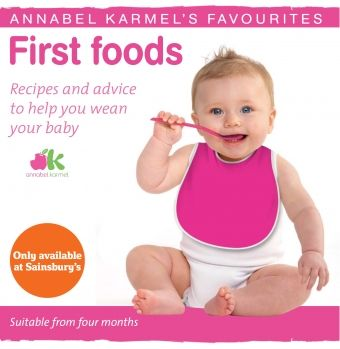 Annabel Karmel baby food books