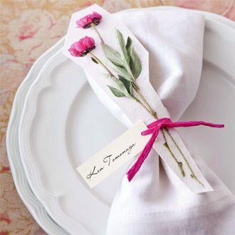 おしゃれなプレ花嫁は「席礼」にもこだわります♡プレ花嫁の為のDIYアイディア集♡ | Marry Jocee