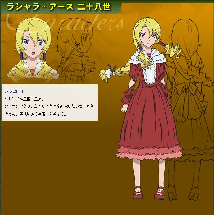 The Anime Character Lashara Earth XXVIII Is A Teen With Past Waist Length Blonde Yellow Hair And Blue Eyes