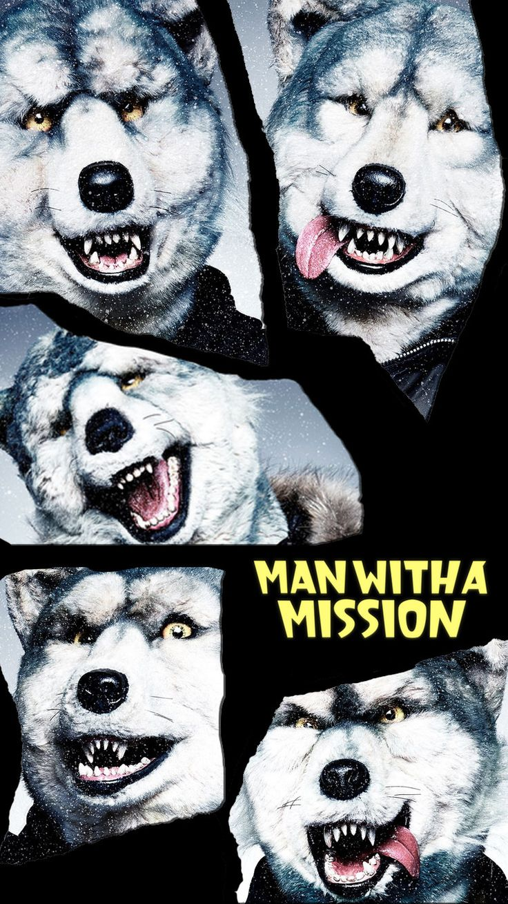 MAN WITH A MISSION/マンウィズ[25]iPhone壁紙 iPhone 7/7 PLUS/6/6PLUS/6S/ 6S PLUS/SE Wallpaper Background