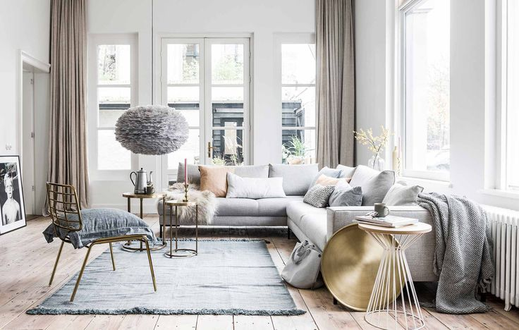 Couleurs douces dans le salon - PLANETE DECO a homes world
