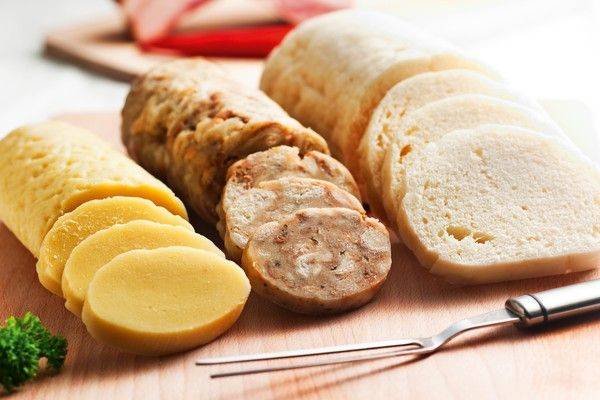 Czech dumplings #czechia #food #czechtraditional