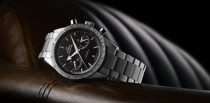 Omega Speedmaster 57 Co-Axial revisited with Broad Arrow Hands and new dial