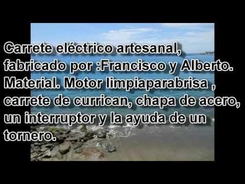 Carrete electrico casero - YouTube