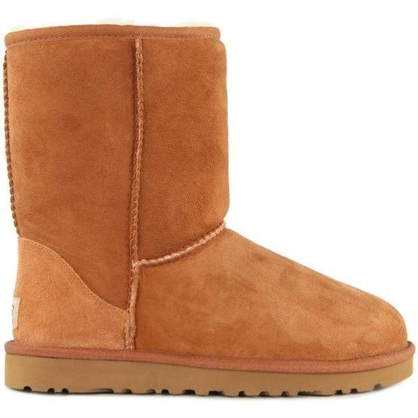 #UGG #Boots,#cheap #ugg, #fashion #ugg, #SHEEPSKIN #UGG #BOOTS, women ugg Ugg Womens Classic Short Chestnut Brown Boots ($265)  liked on Polyvore ugg boots outlet