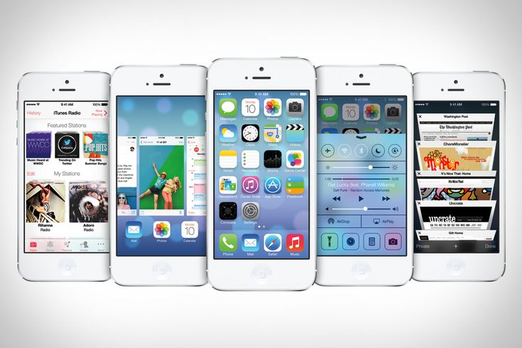 iOS 7 - lookin' forward to the changes and upgrades....