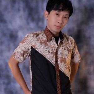 Kemeja batik gaul pria