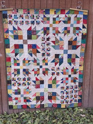 410 Best Images About Quilts Bear Paw Log Cabin Trees On