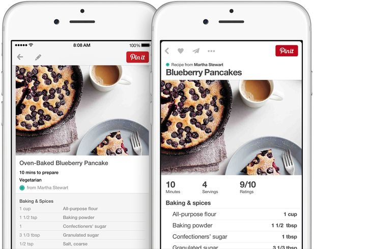 More goodies for the iOS app, via the Official Pinterest Blog