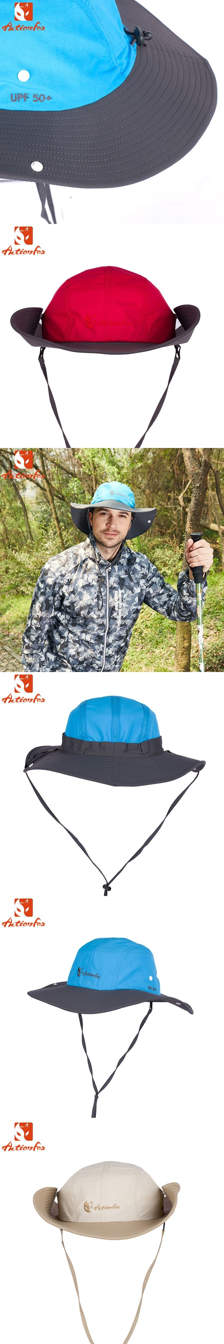 Actionfox Men's Outdoor Hiking Fishing Bob Summer Bucket Hat Wide Brim Hat Sun Cap Men Sombrero Gorro Hats for Men 631-4180