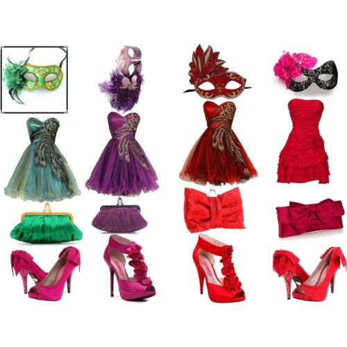 Masquerade Party Dresses | Masquerade Party! - Polyvore