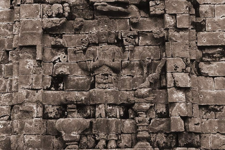 Carved on the walls of the temples, the reliefs at the temples of Dieng are the legacy of ancient Javanese stone carving art.