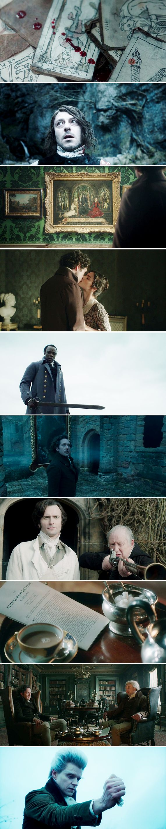 "Jonathan Strange & Mr. Norrell: ""You were right in the beginning, Sir. There can be only one magician in England."""