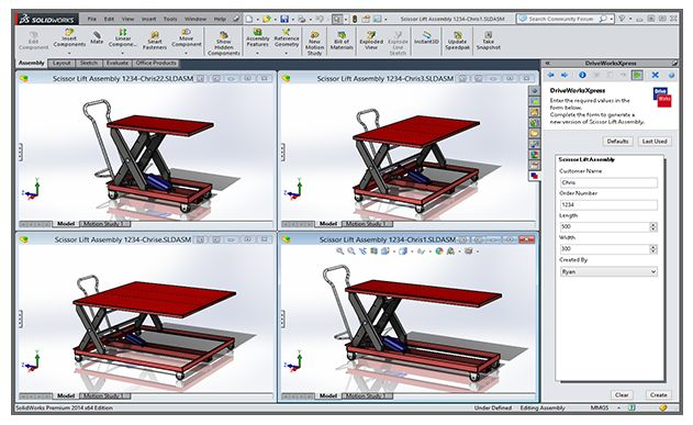 Mengenal SOLIDWORKS Xpress Product