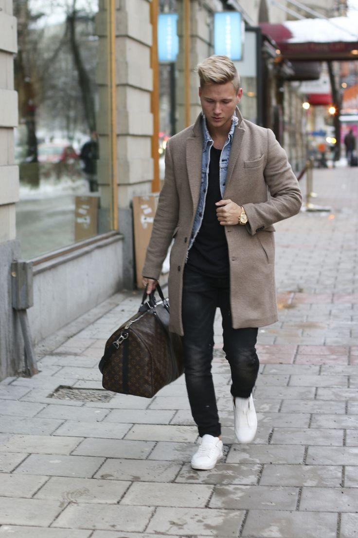 Camel Coat Mens Fashion