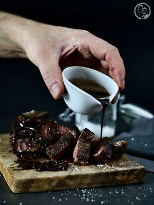 Rinderfilet mit Schalotten-Balsamicojus - Foodblog Köln - Die Jungs kochen und backen