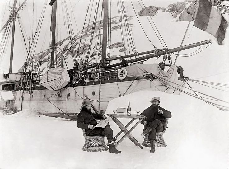 historicaltimes:  First French Antarctic Expedition 1903–1905, Photograph by Jean-Baptiste Charcot via reddit Keep reading