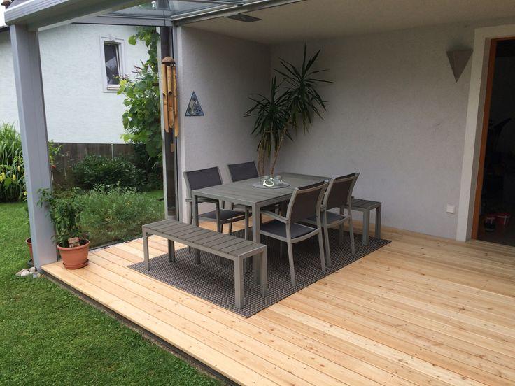die besten 25 berdachung terrasse ideen auf pinterest terrassen berdachung terrassendach. Black Bedroom Furniture Sets. Home Design Ideas