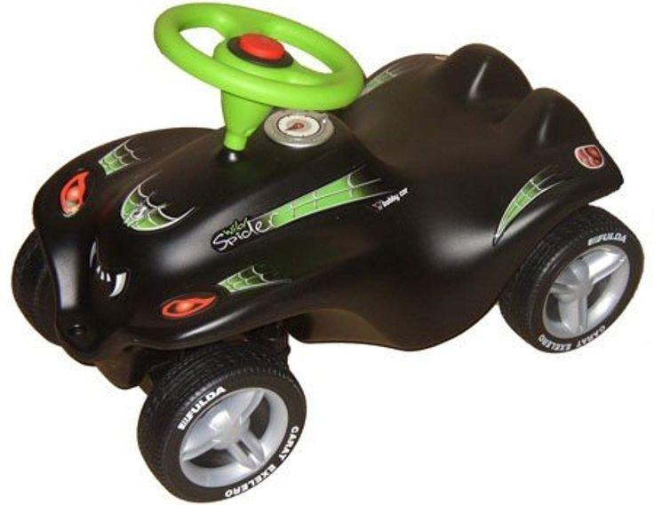 Der Spielzeugtester hat das BIG NEW BOBBY CAR WILD SPIDER SCHWARZ m. FULDA BREIT… – Spielzeugtester