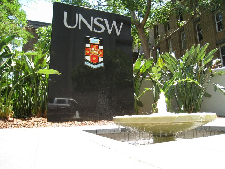 University of NSW; One of many signs throughout the Uni we have done.
