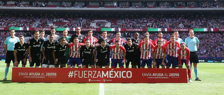 Club Atlético de Madrid - Las imágenes del Atleti - Sevilla FC