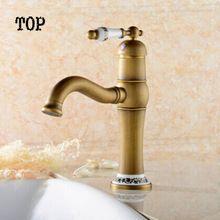 tek kolu musluk banyo porselen antika musluk lavabo musluk suyu musluk bronz lavabo bataryası musluk antika pirinç musluk banyo(China (Mainland))