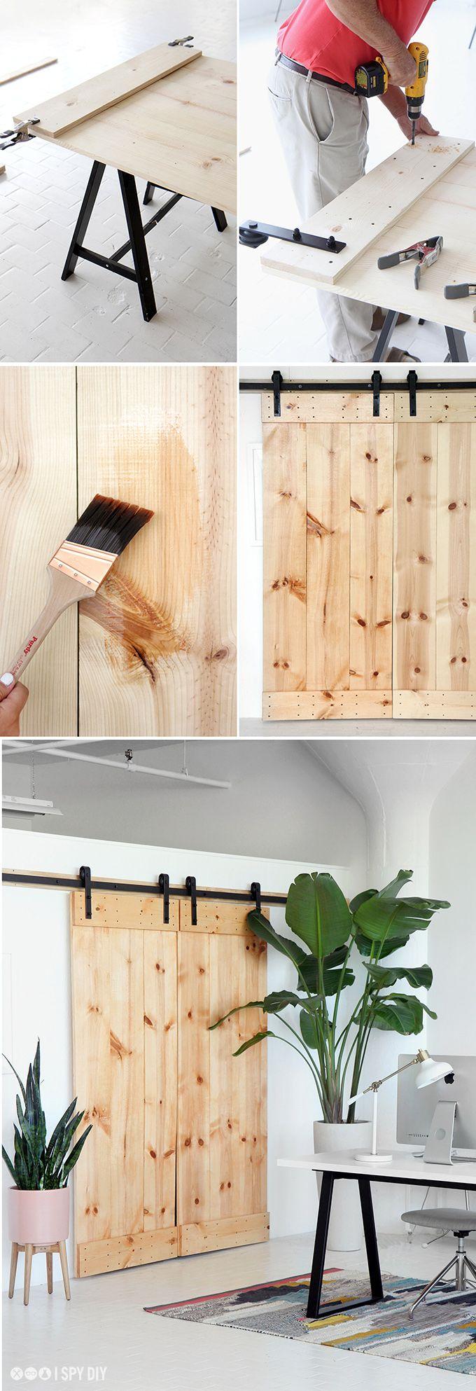» MY DIY | Double Sliding Barn Door