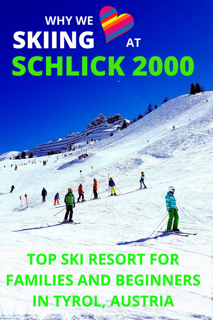 Schlick 2000 is a medium-sized ski resort near Innsbruck in Austria. This local's guide for families and beginners will help you plan an unforgettable ski holiday in the beautiful Stubai Valley. Read it for the best overview of the slopes, ski pass options, restaurants and places to stay.