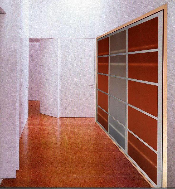Las 25 mejores ideas sobre puertas de aluminio en for Marco puerta corredera
