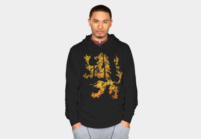 Lion Heraldic Griffin Heraldry Grungy Distressed Sweatshirt - Design By Humans