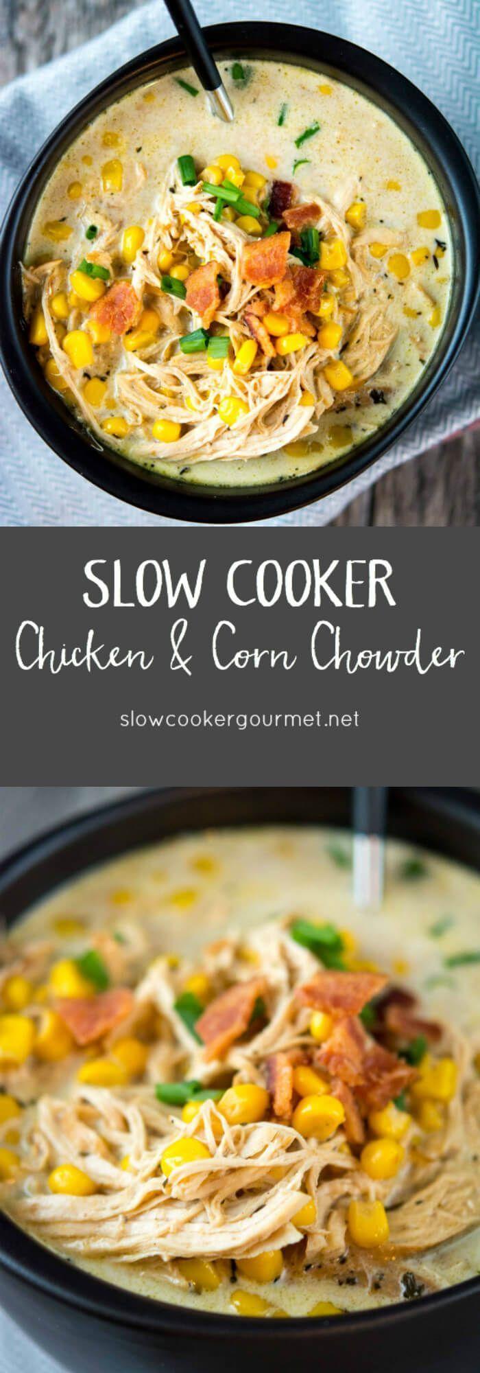 Chicken & Corn Chowder