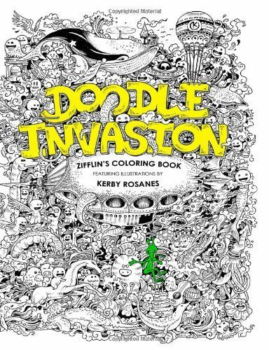 Coloring Books For Adults In Singapore 43 Best Doodle Invasion Book Images On Pinterest