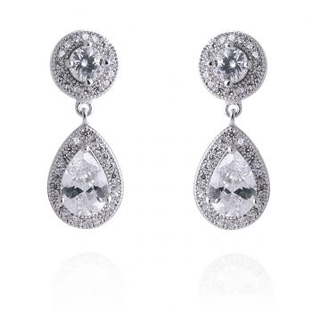 Adriana Silver Plated Earrings