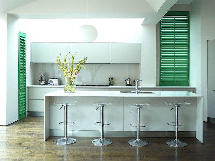Die besten 25+ Küchenschrankfarbe Ideen auf Pinterest Schränke - wohnzimmer grun streichen