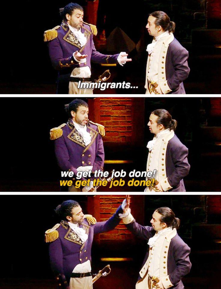 Lafayette & Hamilton | Hamilton Musical