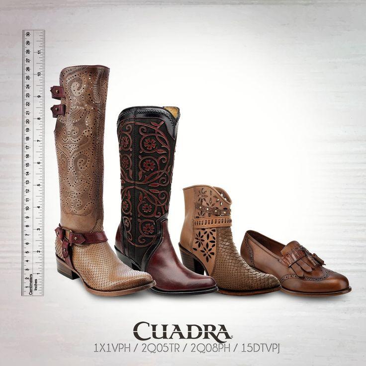 #CUADRA Altura para todos los gustos. #Botas #Boots #Shoes #Botines #Calzado