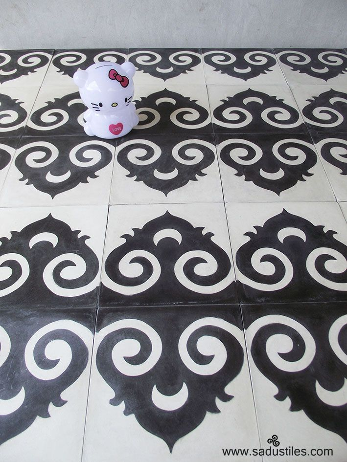 Sadus Tiles hand made cement tiles from Bali