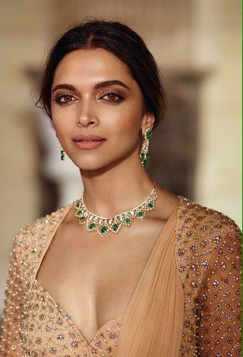 Deepika Padukone for Tansihq Jewelers