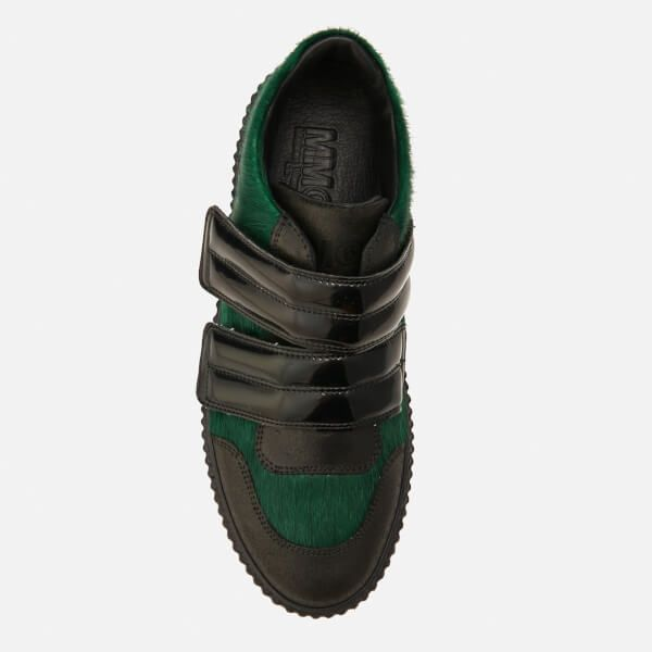 MM6 Maison Margiela Women's Multi Colour Trainers - Green/Black/Black