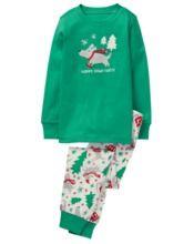 Howl 2 Piece Gymmies Pajama Set Boys Pajamas Toddler Boys