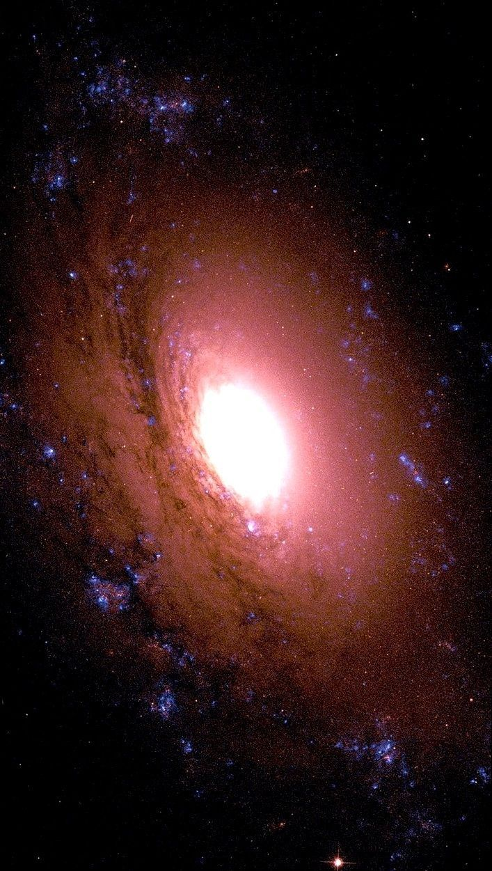 NGC 3I69, a spiral galaxy in the constellation Sextans