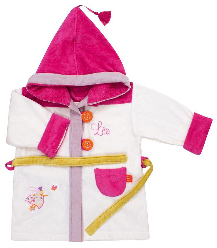 De la marque L'Oiseau Bateau, joli peignoir Coccinelle de couleur écrue et rose, pour les petites filles de 2 à 4 ans, à broder au nom de votre enfant. Vous le trouverez en vente sur http://www.jeujouet.com/oiseau-bateau-peignoir-a-broder-coccinelle-ecrue.html #Peignoir #Fille #LOiseauBateau #Jeujouet