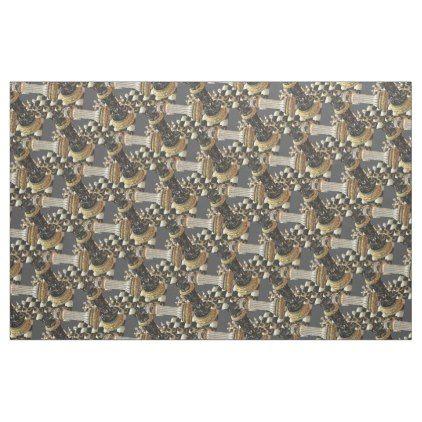 Chess Battle Chess Board Fabric - craft supplies diy custom design supply special