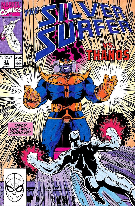 Silver Surfer vs. Thanos | Thanos | Pinterest
