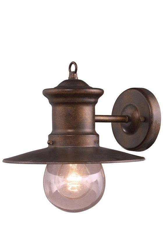 sconce: Hazelnut Bronze, Elk Lights, Lights Outdoor, Trav'Lin Lights, Outdoor Wall, Wall Sconces, Outdoor Sconces, Lights Wall, Outdoor Lights