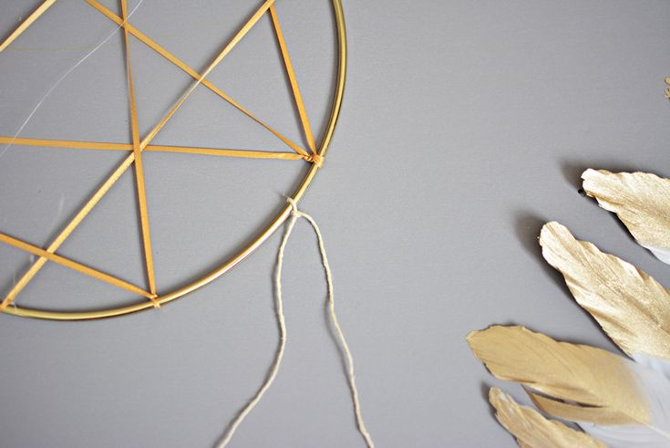With a few materials and just a few simple steps you can make this DIY dream catcher mobile for you home, nursery, or kids room.